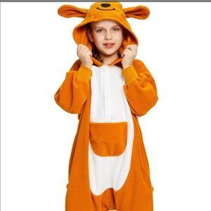 Cosplay size 8 kangaroo pajama costume